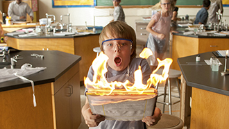 Just a bad day: Ed Oxenbould stars in a scene from the movie Alexander and the Terrible, Horrible, No Good, Very Bad Day. Photos: CNS