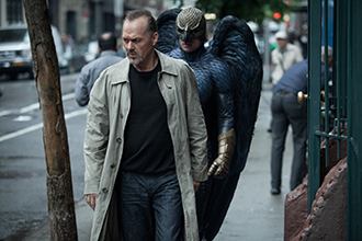 Sad tale: Michael Keaton stars in a scene from the movie Birdman. Photo: CNS