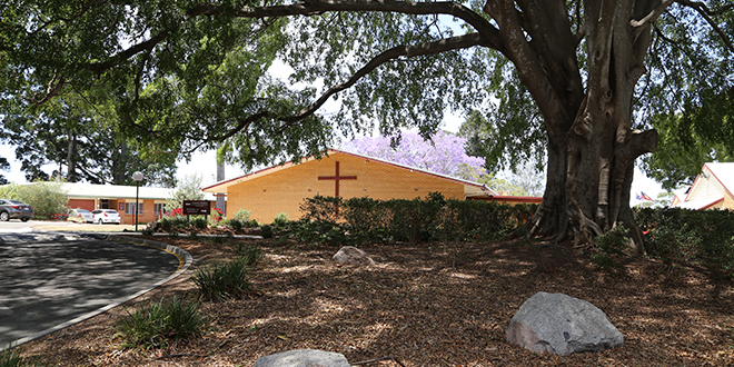 Welcome: Our Lady of the Way Parish, Petrie, north of Brisbane, is celebrating 50 years.