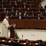 Pope Francis at Council of Europe
