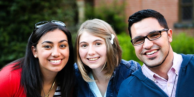 Cultural revival: Young Australian Catholics including Chris Da Silva, right, will establish The Culture Project and share the experience of virtues in schools, youth groups and universities.
