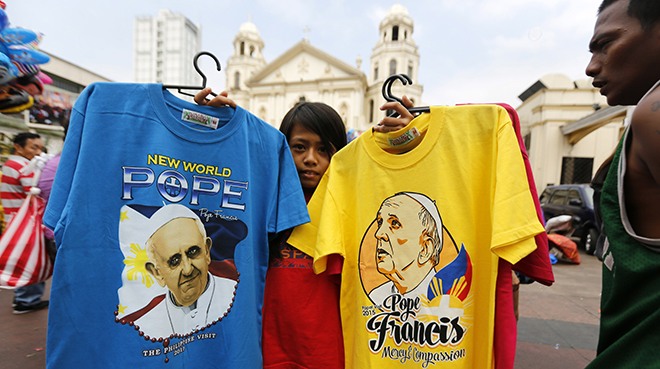 Philippines papal visit
