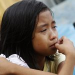 Philippines girl in poverty