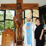 Special crucifix dedicated in memoriam to diocese's priests