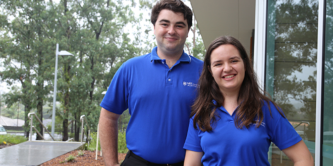 Young preachers: Nick Kelly and Emilie Piat are ready to tell young Australians why God should be their top priority.