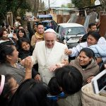 Pope Francis visits immigrants