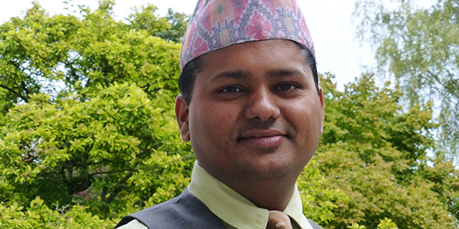 Success story: Prakash Khadka will soon be in Brisbane to help launch Project Compassion.