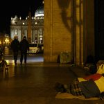Homeless in Vatican