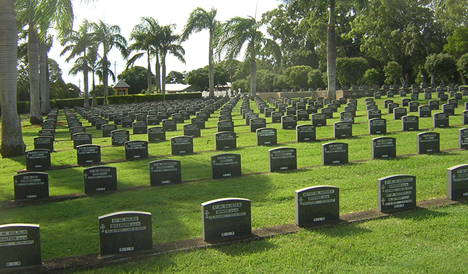 """Nudgee Cemetery: """"More and more families today are considering the option of pre-arranging and pre-paying their burial or cremation and memorial in advance."""""""