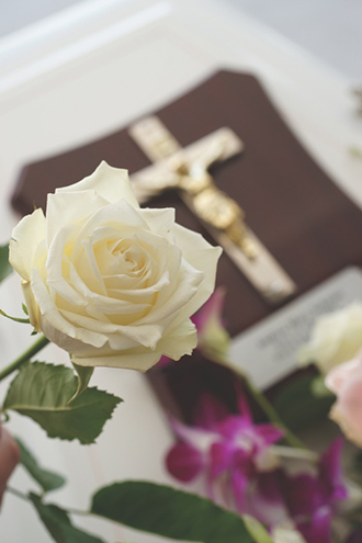 Dedicated: Holy Cross Funerals began offering funeral services throughout the Archdiocese of Brisbane in 1999.