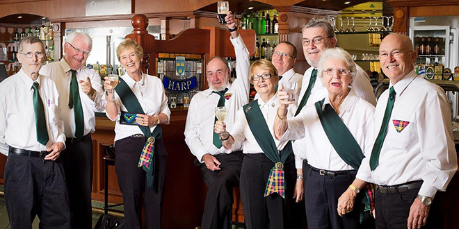 Celtic inspiration: Members of the Queensland Irish Choir who aim is to promote Irish culture as well as that of all Celtic countries.