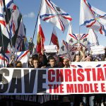 Christians protest in Beirut