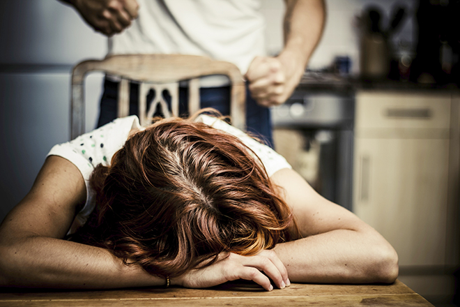 Danger at home: Domestic violence claimed 17 lives in Queensland from 2012 to 2013.
