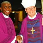 "Unexpected mission: Fr Chima Ofor ""least expected"" to be Petrie community's parish priest but joyously took on his new role when he was installed by Archbishop Mark Coleridge on February 28."