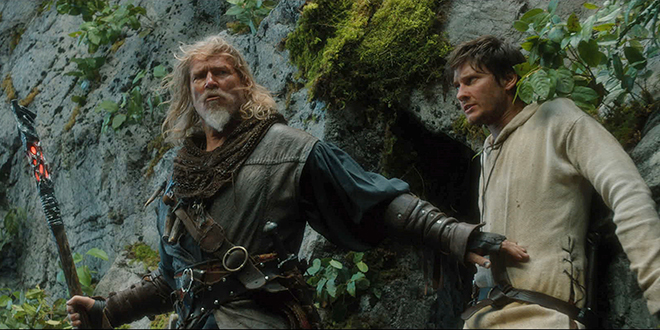 """Action fantasy: Jeff Bridges and Ben Barnes star in a scene from the movie """"Seventh Son"""". Photo: CNS/Universal"""