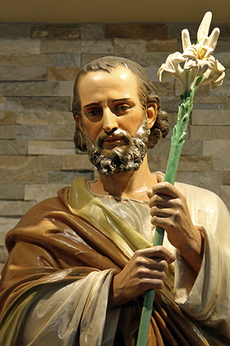 Man of faith: St Joseph. Photo: CNS