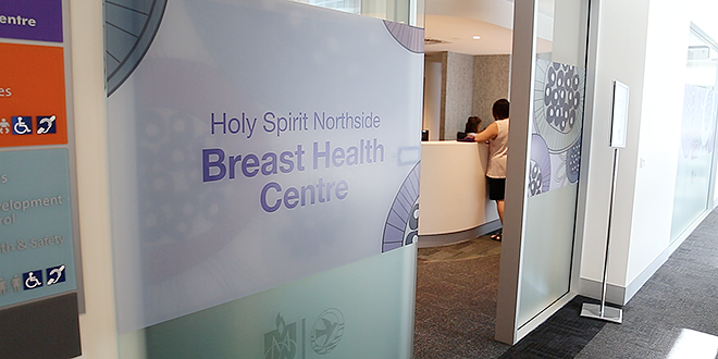 Centre of care: Holy Spirit Northside Private Hospital's new Breast Health Centre in Chermside opened on April 7.
