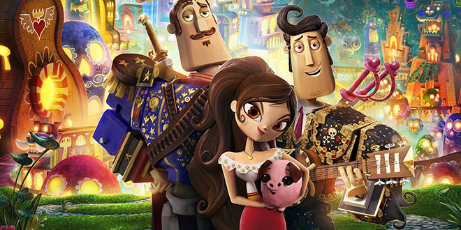 Appealing fairytale: Joaquin, Maria and Manolo in a scene from the animated movie The Book of Life. Photo: CNS/Fox
