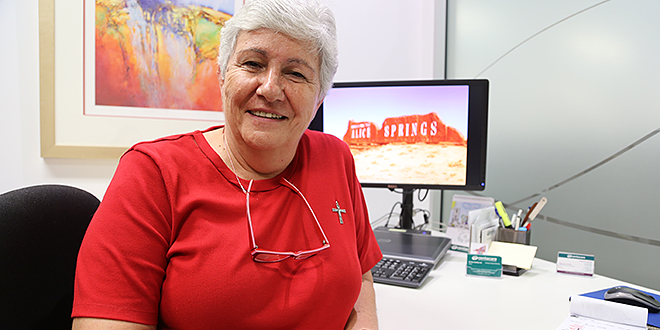 """Sr Anne Surtees: """"It's a case of do I stay here where I'm really comfortable and everything's fine or do I think, 'Now … I need to step out in trust'?"""" Photo: Emilie Ng"""