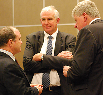 Feeding faith: More than 200 members of the Assembly of Catholic Professionals gathered at the Hilton Hotel, Brisbane, for a luncheon sponsored by The Catholic Leader. Photos: Catholic Foundation.