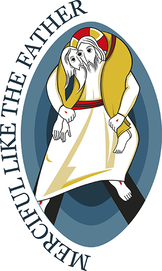 Mercy symbol: The logo for the Holy Year of Mercy, which opens on December 8 and runs until November 20, 2016. Photo: CNS/courtesy of Pontifical Council for Promoting New Evangelisation