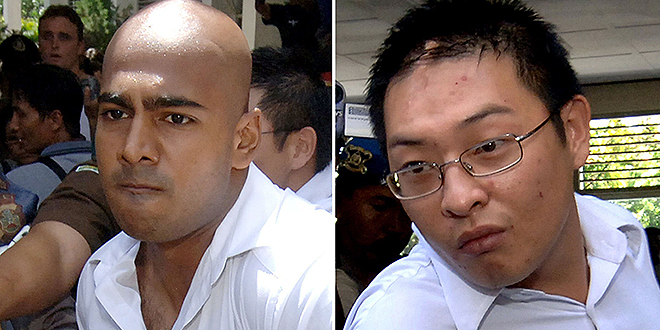 """Life over death: Professor Greg Craven said ACU's scholarships in memory of Andrew Chan and Myuran Sukumaran will be called the Mercy Scholarships, """"after the quality so desperately denied"""" them. Photo: AAP"""