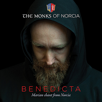 """Chant CD: This is the cover of """"BENEDICTA: Marian Chant From Norcia"""". Photo: CNS/Universal Music"""