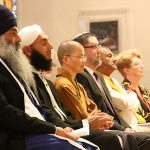 The Dalai Lama invited Bahai, Buddhist, Hindu, Jewish, Islamic, Sikh and Christians leaders to be together in St Stephen's Cathedral and pray for peace