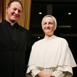 Consecrated missionaries: Former National Evangelisation Teams members Sr Anastasia Reeves and Fr Michael Gallacher say their year on mission prepared them for religious life. Photos: Emilie Ng