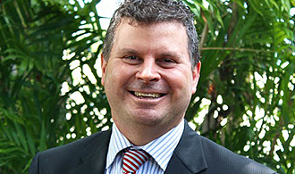 Christian lead: Professor Darren Iselin is president and chief executive officer of Christian Heritage College.
