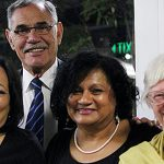 Assembly attendees: Murri Ministry members (from left) Ravina Waldren, David Miller, Bernadette Jeffrey and Josephite Sister Kay McPadden were among Brisbane representatives at the NATSICC Assembly.