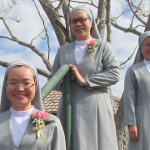 Sr Maria Goretti Tran, Sr Therese Francis Pham and Sr Theresia Nguyen