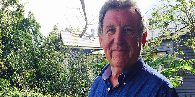 Helping hand: Jubilee parish's refugee support group co-ordinator Kevin Smith.