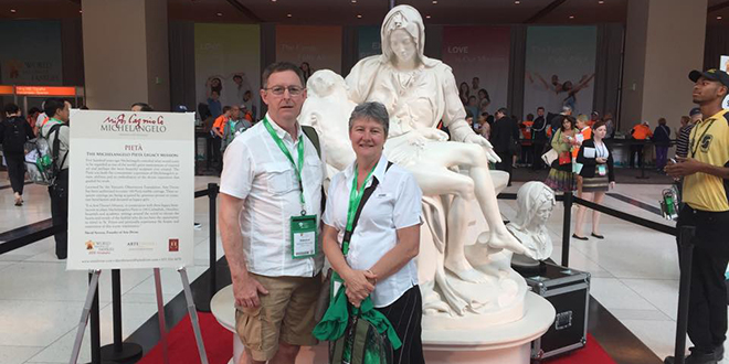 Brisbane couple at World Meeting of Families