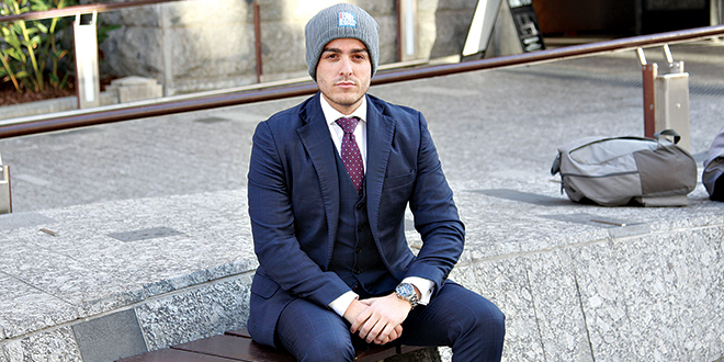 Jordan Grives Vinnies CEO Sleepout Ambassador
