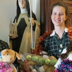 Christmas cheer from Catholic students