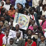 Uganda Catholics wait for the Pope