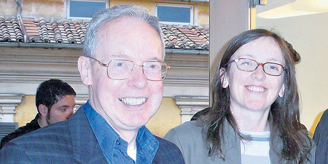 Fr Michael Paul Gallagher and Dr Maeve Heaney