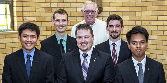 Queensland seminarians
