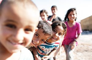 Young Syrian refugees
