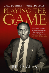 Playing the Game book cover Julius Chan