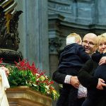 Pope Francis meets The Cassady family