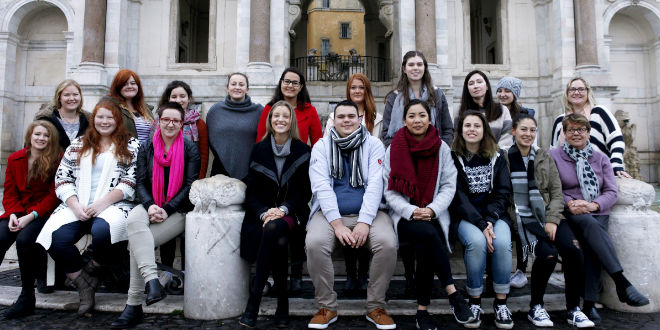 ACU Students in Rome