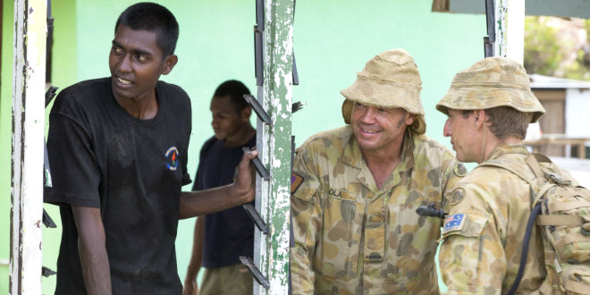 Army of support lands in Fiji to rebuild communities battered by Cyclone Winston
