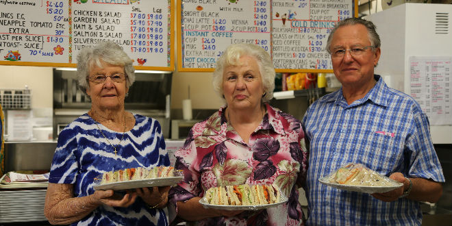This retired couple's work in a Brisbane cafe is helping care for pro-life and pro-family groups