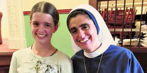 Sr Mariam and Nancy Webb