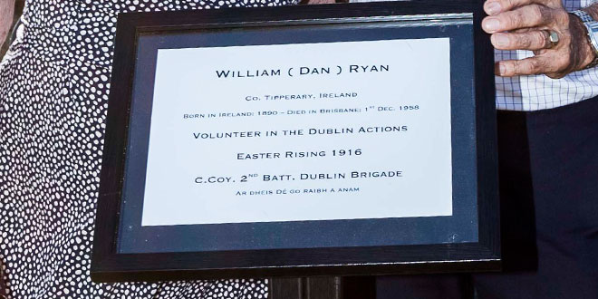 Easter Rising hero remembered 100 years on