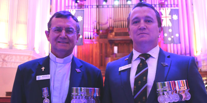 Prayer breakfast told of mental health epidemic among soldiers