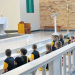 Children in Eucharistic Adoration