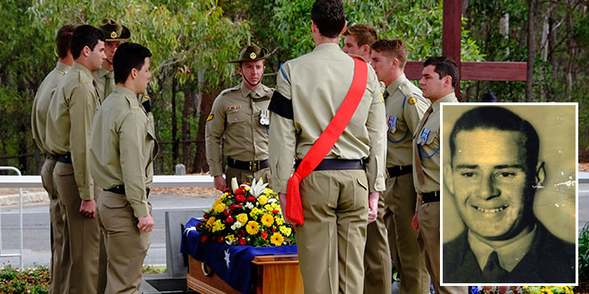 Digger laid to rest